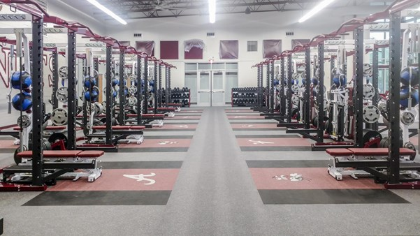 Athens High School Pendulum Strength Weight Room