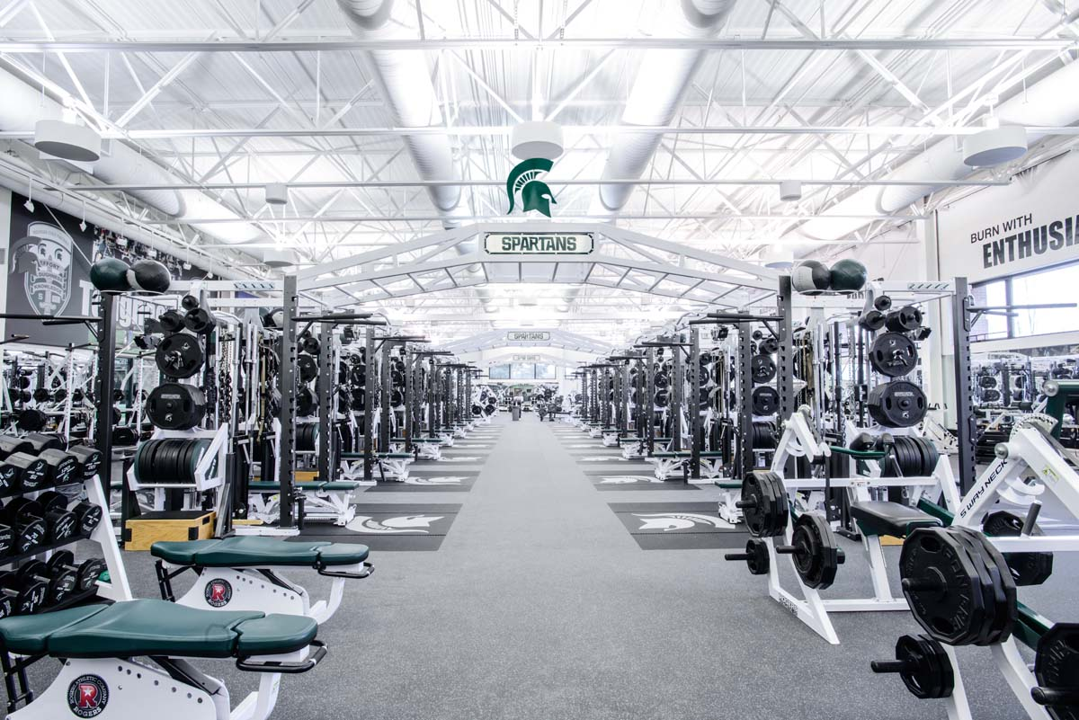 Michigan State University Rogers Athletic