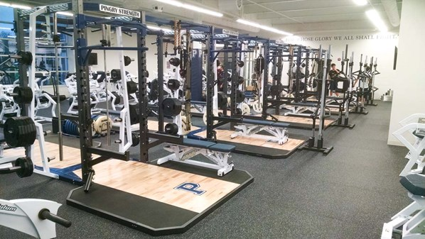 Pendulum Dual Rack's with our Olympic Lift Platforms.