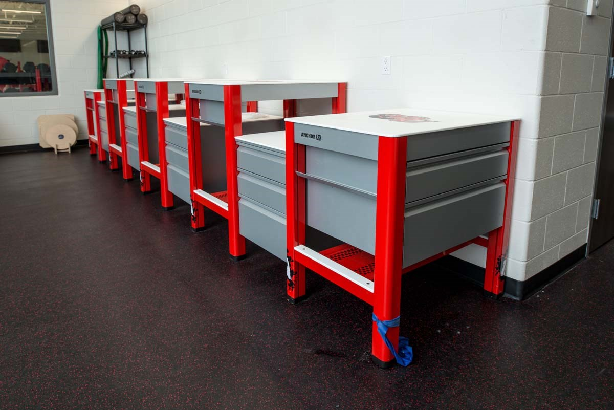 Impact Athletic Anchor 2X athletic training tables at Davenport University