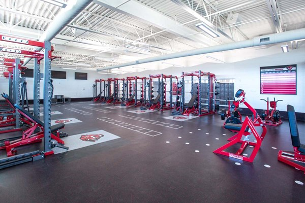 Davenport University Weight Room