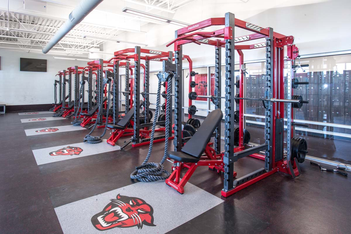 Davenport University Athletic Weight Room Rogers Athletic