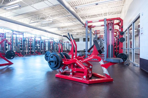 3-Way Row and Pendulum Full Racks at Davenport University