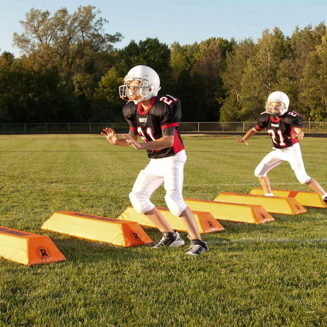 youth football practice equipment