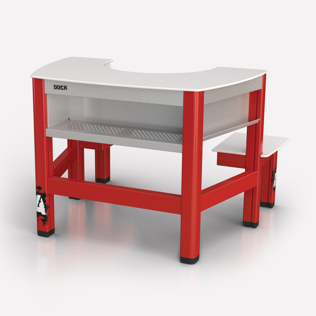 "31"" x 24"" athletic training table - dock"