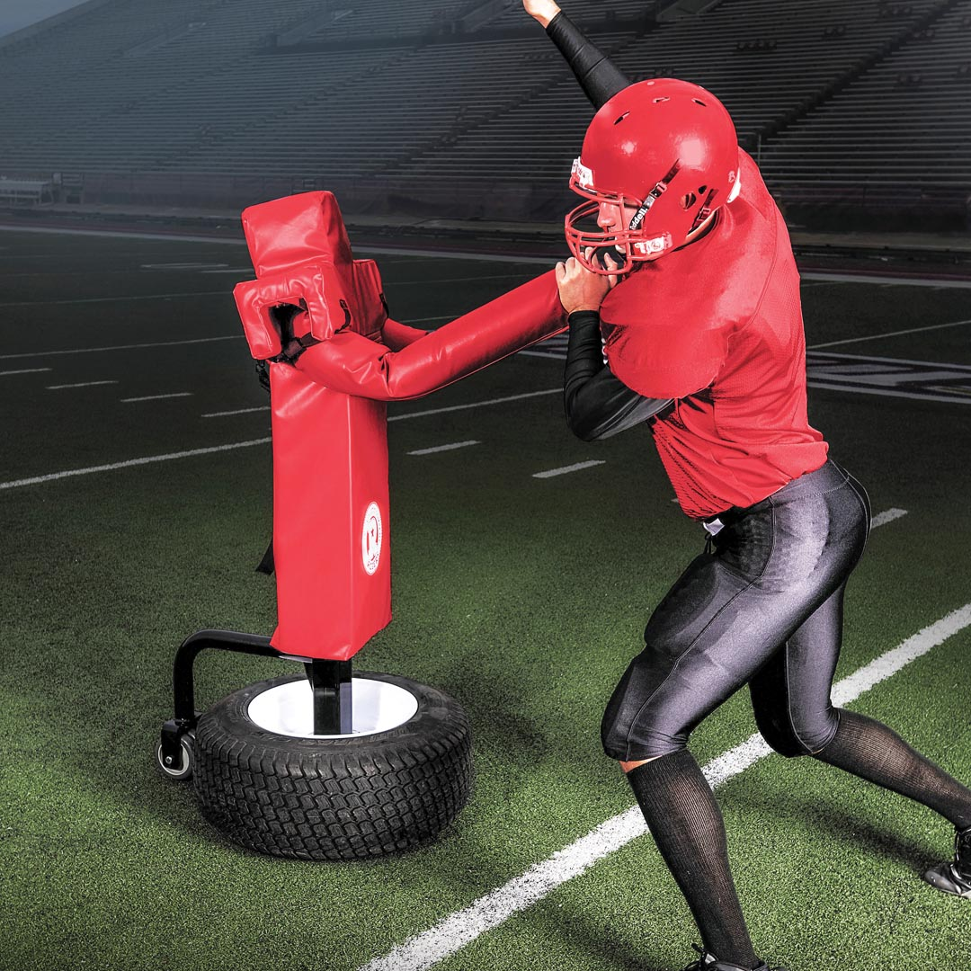 Titan-Pass Rush Trainer with Tire Mount