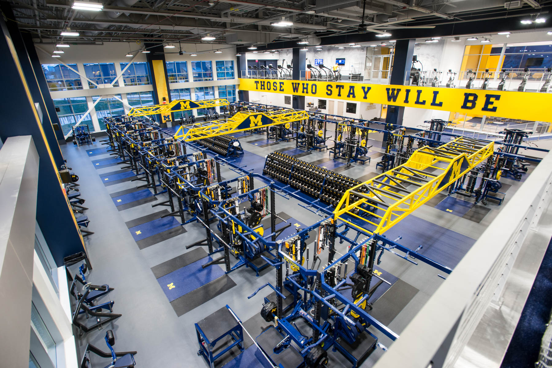 university of michigan olympic strength center rogers athletic