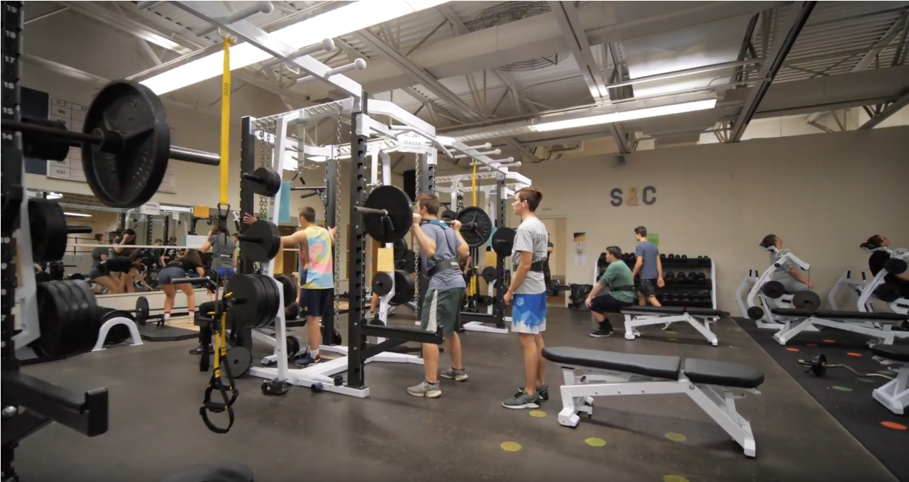 Cadillac High School Introduces New Weight Room